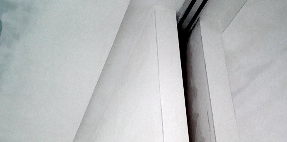 Cartongesso con lastre in cemento alleggerito
