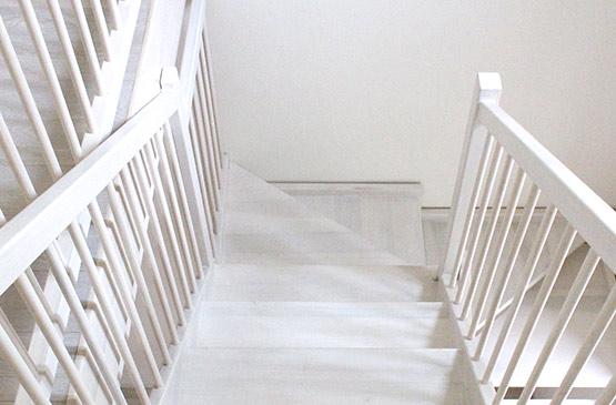 Scala per interno realizzata artigianalmente